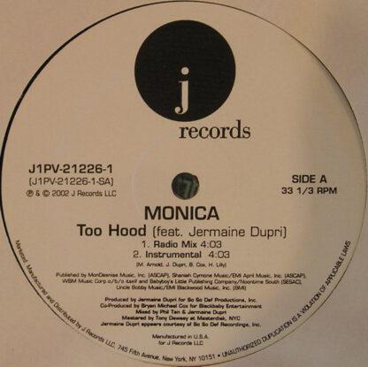 "Monica - Too Hood (12"")"