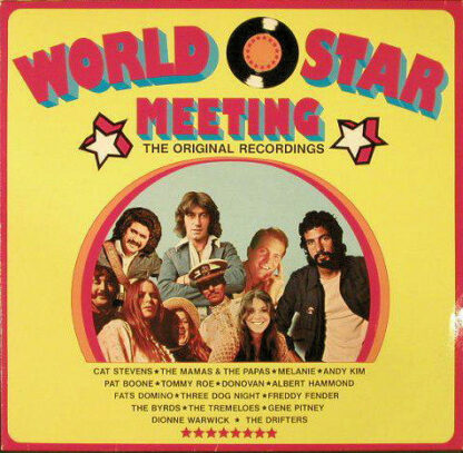 Various - World Star Meeting (LP, Comp)