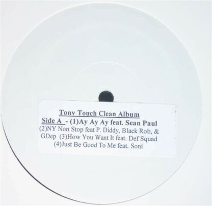 "Tony Touch - The Piece Maker 2 (Clean Promo) (12"", Promo, Smplr, W/Lbl)"