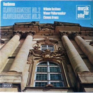 Ludwig van Beethoven, Wilhelm Backhaus - Klavierkonzert Nr. 2 & 3 (LP, Comp)