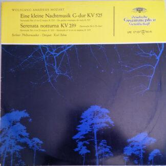 """Wolfgang Amadeus Mozart - Berliner Philharmoniker, Karl Böhm - Eine Kleine Nachtmusik G-dur KV 525 / Serenata Notturna KV 239 (10"""", Mono)"""