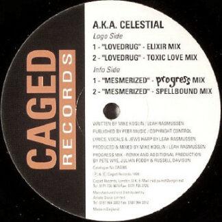 """A.K.A. Celestial - Lovedrug / Mesmerized (12"""")"""