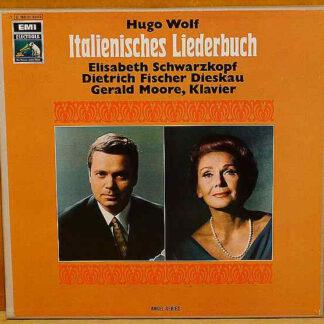 Hugo Wolf / Elisabeth Schwarzkopf, Dietrich Fischer-Dieskau, Gerald Moore - Italienisches Liederbuch (2xLP)