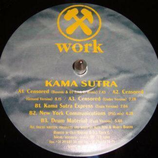 "Kama Sutra* - Censored (12"")"
