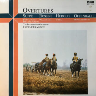 Eugene Ormandy, The Philadelphia Orchestra - Spectacular Overtures (LP, Album)