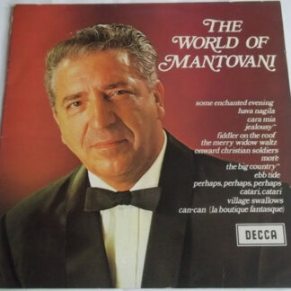 Mantovani And His Orchestra - The World Of Mantovani (LP, Comp, Dar)