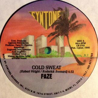 """Faze (2) - Cold Sweat (12"""")"""