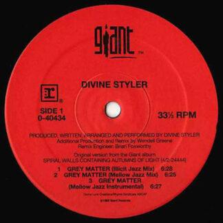 """Divine Styler - Grey Matter (12"""", Maxi)"""