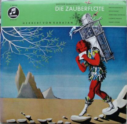 Wolfgang Amadeus Mozart - Die Zauberflöte - Großer Querschnitt (LP)