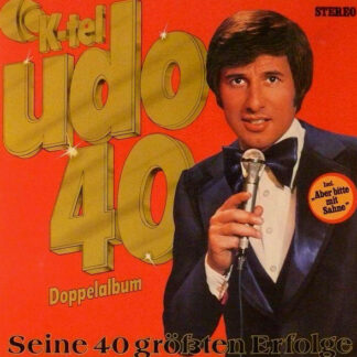 Udo Jürgens - Udo 40 - Seine 40 Größten Erfolge (2xLP, Comp)