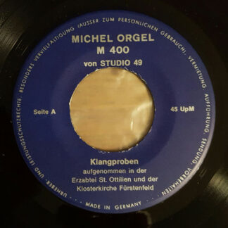 """Unknown Artist - Michel Orgel M 400 von Studio 49 (7"""", EP)"""