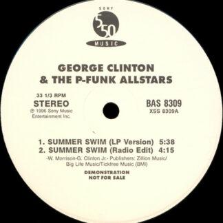 "George Clinton & The P-Funk Allstars* - Summer Swim (12"", Promo)"