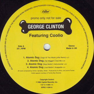 "George Clinton - Atomic Dog (12"", Promo)"