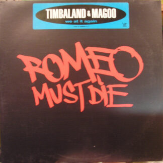 "Timbaland & Magoo - We At It Again (12"", Promo)"