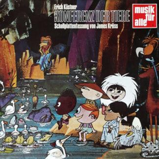 Erich Kästner - Konferenz Der Tiere (LP, Album)