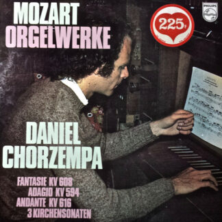 Mozart*, Daniel Chorzempa - Orgelwerke (LP)