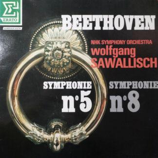 Beethoven*, NHK Symphony Orchestra, Wolfgang Sawallisch - Symphonie N°5 - Symphonie N°8 (LP)