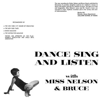 Miss Nelson & Bruce* - Dance Sing And Listen (LP, RE)