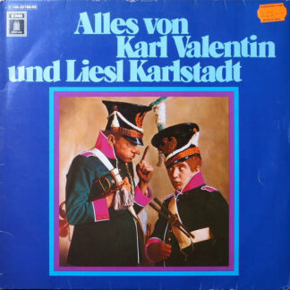 Karl Valentin Und Liesl Karlstadt* - Alles Von Karl Valentin Und Liesl Karlstadt (2xLP, Comp)