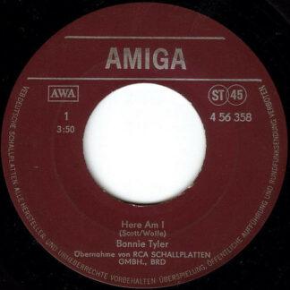 "Bonnie Tyler - Here Am I / It's A Heartache (7"", Single)"