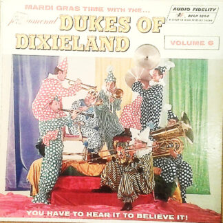 The Dukes Of Dixieland - Mardi Gras Time With The Dukes Of Dixieland - Volume 6 (LP, Album, Mono)