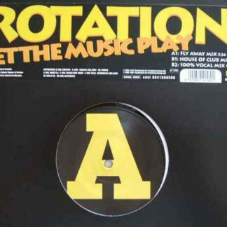 """Rotation (2) - Let The Music Play (12"""")"""