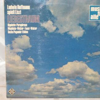 Franz Liszt, Ludwig Hoffmann - Sechs Paganini-Etüden (LP)