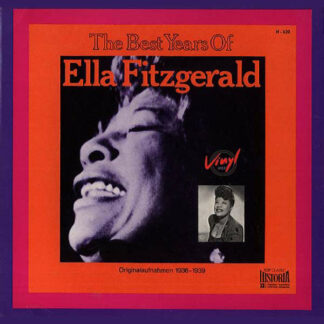 Ella Fitzgerald - The Best Years Of Ella Fitzgerald (LP, Comp)