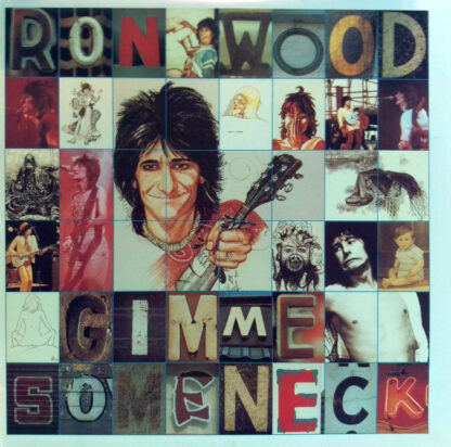 Ron Wood - Gimme Some Neck (LP, Album, RE)
