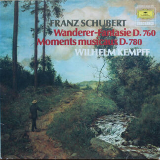 Franz Schubert, Wilhelm Kempff - Wanderer-Fantasie D.760 / Moments Musicaux D.780 (LP, RE)