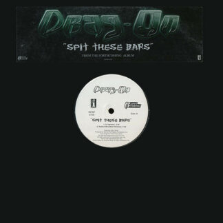 """Drag-On - Spit These Bars (12"""", Promo)"""
