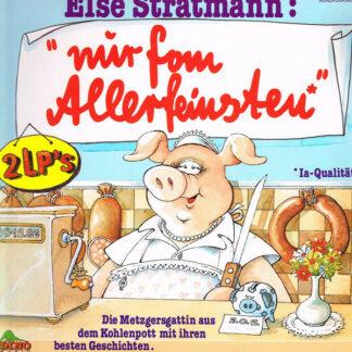 """Elke Heidenreich - Else Stratmann: """"Nur Fom Allerfeinsten"""" (2xLP, Comp)"""