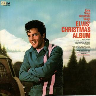 Elvis* - Elvis' Christmas Album (LP, Album, RE, Lab)