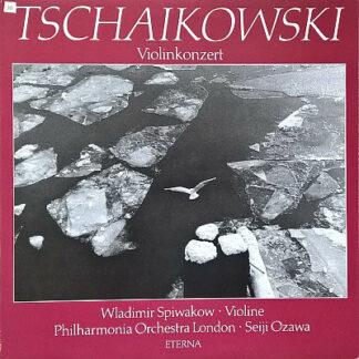 Tschaikowski* - Wladimir Spiwakow*, Philharmonia Orchestra London*, Seiji Ozawa - Violinkonzert (LP, Album)