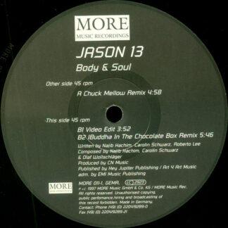 """Jason 13 - Body & Soul (12"""", Maxi)"""
