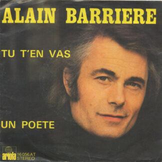 Alain Barriere* - Tu T'En Vas / Un Poete (7