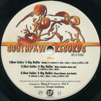 """Whoridas* - Shot Callin' & Big Ballin' (12"""")"""