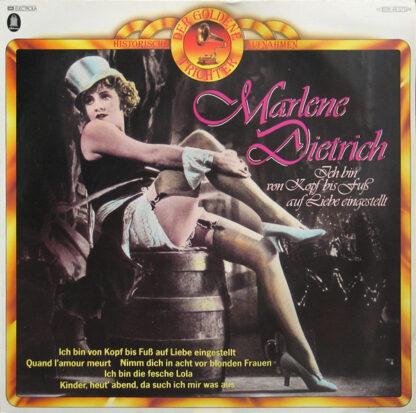 Marlene Dietrich - Ich Bin Von Kopf Bis Fuß Auf Liebe Eingestellt (LP, Comp, Mono)