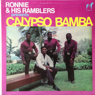 Ronnie & His Ramblers* - Calypso Bamba (LP, Album, Blu)