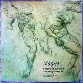 Mozart*, Staatskapelle Dresden, Otmar Suitner - Sinfonie Es-dur KV 543 / Sinfonie G-moll KV 550 (LP, Bla)