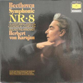 Beethoven* – Berliner Philharmoniker, Herbert von Karajan - Symphonie Nr. 8 (LP)