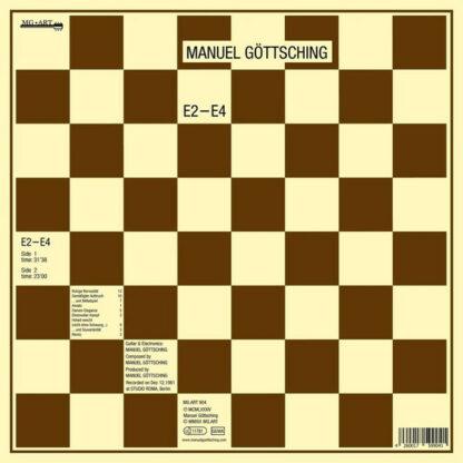 Manuel Göttsching - E2-E4 (LP, Album, RE, Emb)