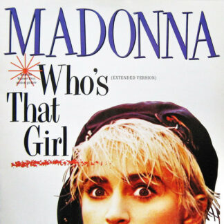 "Madonna - Who's That Girl (Extended Version) (12"")"
