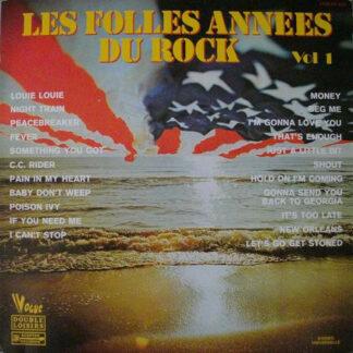 Various - Les Folles Années Du Rock Vol. 1 (2xLP, Comp)