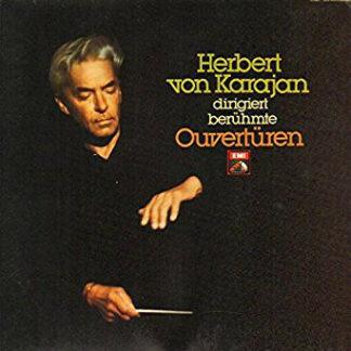 Herbert von Karajan - Herbert von Karajan dirgiert berühmte Ouvertüren (LP, Comp, Club)