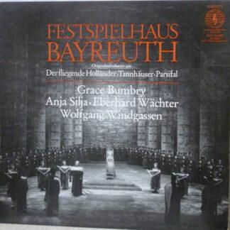 Various - Festspielhaus Bayreuth: Originalaufnahmen Aus Der Fliegende Holländer, Tannhäuser, Parsifal (LP)