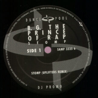 """B.G. The Prince Of Rap - Stomp (Uplifters Remix) (12"""", S/Sided, Promo)"""