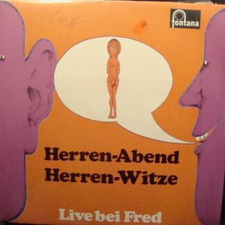 Fred Warden - Herren-Abend Herren-Witze - Live Bei Fred (LP, Album, Gre)