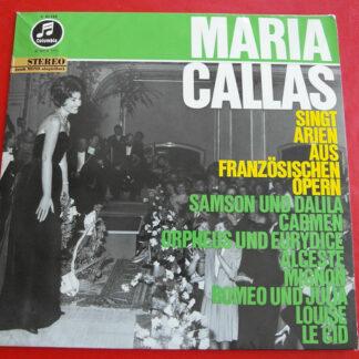 Maria Callas - Maria Callas singt Arien aus französischen Opern (LP, Album)