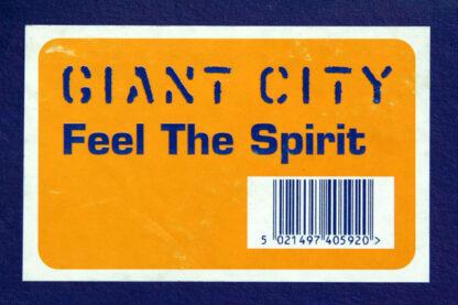 """Giant City - Feel The Spirit (12"""")"""